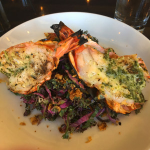 The prawns, of course, at The District by Hannah An