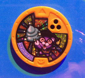 One of the three super rare medals for the Yo-Kai Watch 2