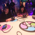 Yo-Kai Watch 2 gamers check out the Blasters Mode at the Yo-Kai Watch 2 event