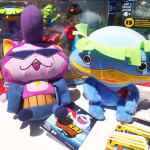 Two Yo-Kai Watch 2 character soft toys that I am going to have to speak to Santa about.