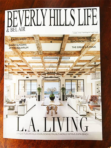 "Congratulations to Fish Media on their new magazine ""Beverly Hills Life"" and thanks to Jo Stevens for the great interview on pages 32-35!"